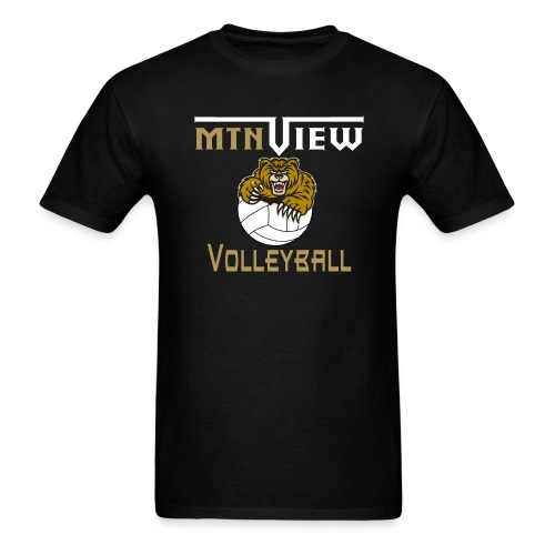 Mtn View Volleyball Men's T-Shirt - Men's T-Shirt