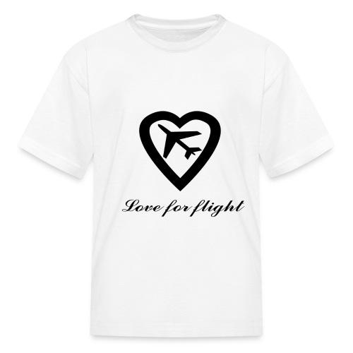 Kids Love for Flight T-Shirt - Kids' T-Shirt