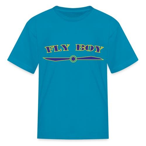 Kids Fly Boy T-Shirt - Kids' T-Shirt