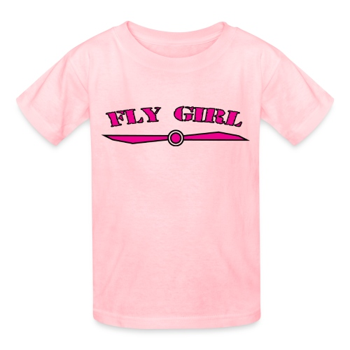 Kids Fly Girl T-Shirt - Kids' T-Shirt