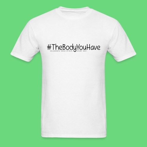 Mens' Tee: The Body You Have Hashtag Logo  - Men's T-Shirt