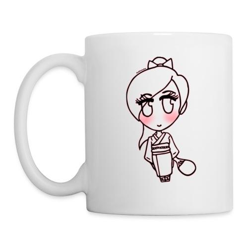 ukata Kimono Anime Girl Mug - Coffee/Tea Mug