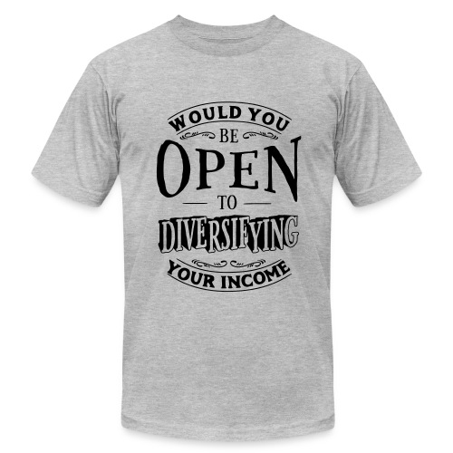 Are You Open? - Men's Fine Jersey T-Shirt