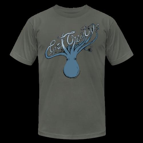 Get Creative Octopus - Men's  Jersey T-Shirt