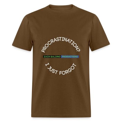 Men's Procrastination T-Shirt - Men's T-Shirt