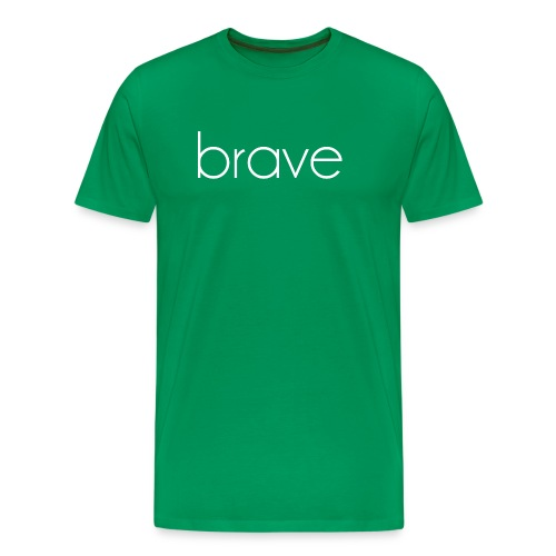 Unisex Brave Tee - Men's Premium T-Shirt