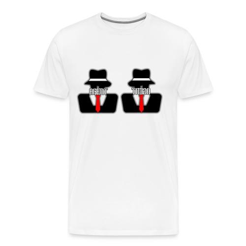 Emphasis Unintentionally On Manboobs - Men's Premium T-Shirt