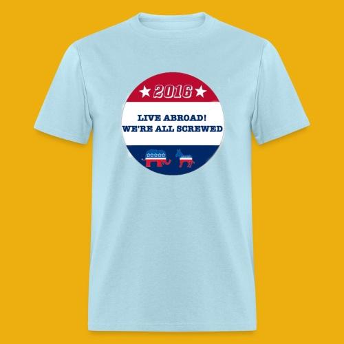 Live Abroad2 Male T - Men's T-Shirt