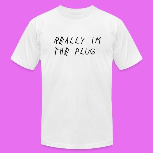 Plug T-shirt - Men's Fine Jersey T-Shirt