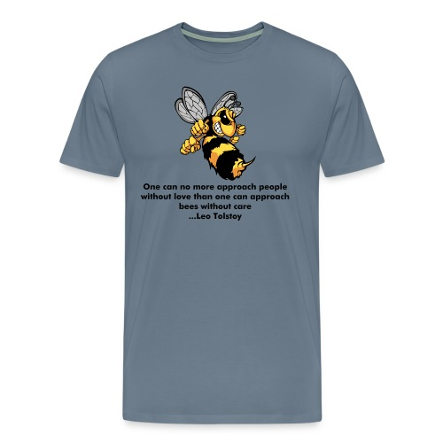 One can no more approach people - Mens T-Shirt (Spreadshirt) - Men's Premium T-Shirt