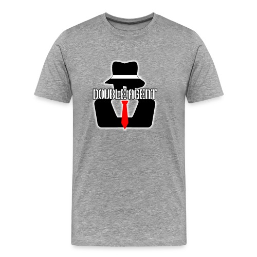 Single Double Agent: Grey - Men's Premium T-Shirt
