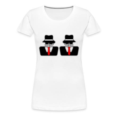 Emphasis Unintentionally On Regular Boobs (Because It's The Women's Version) - Women's Premium T-Shirt