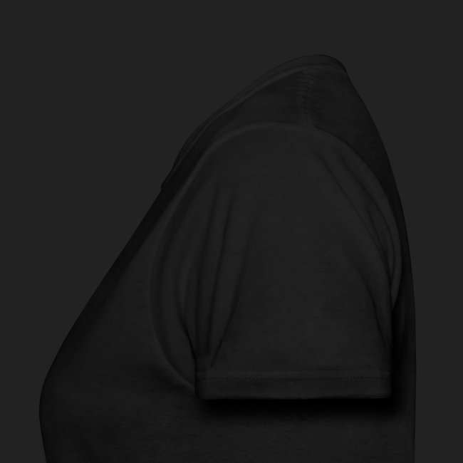 Logo Tee - White on Dark, Women's