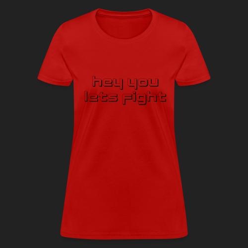 Logo Tee - Black on Light, Women's - Women's T-Shirt