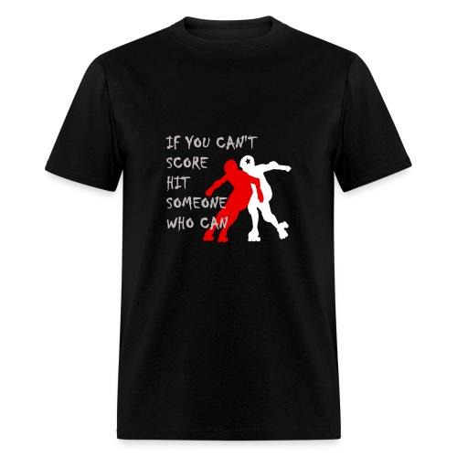 Hit Someone Men's style t-shirt - Men's T-Shirt