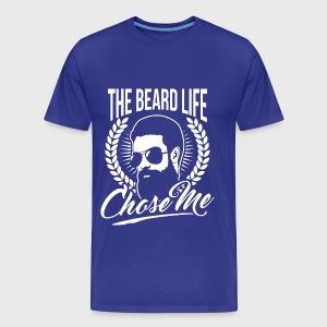 The Beard Life - Men's Premium T-Shirt