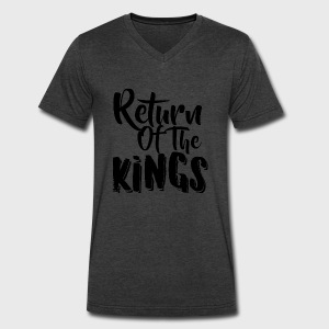 Return Of The Kings - Men's V-Neck T-Shirt by Canvas