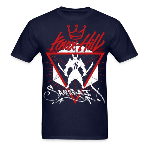 #SamuraiX (Blue King)  - Men's T-Shirt