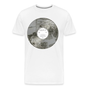 Earth [3357] record - Men's Premium T-Shirt
