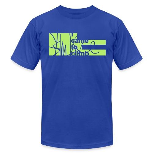 I Came to Climb. Skimble Graffiti Tee - Men's Fine Jersey T-Shirt