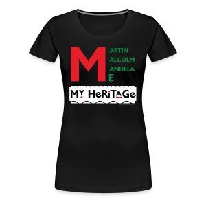 Women's My Heritage - Women's Premium T-Shirt