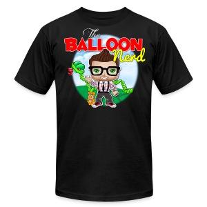 Mens Balloon Nerd  - Men's Fine Jersey T-Shirt