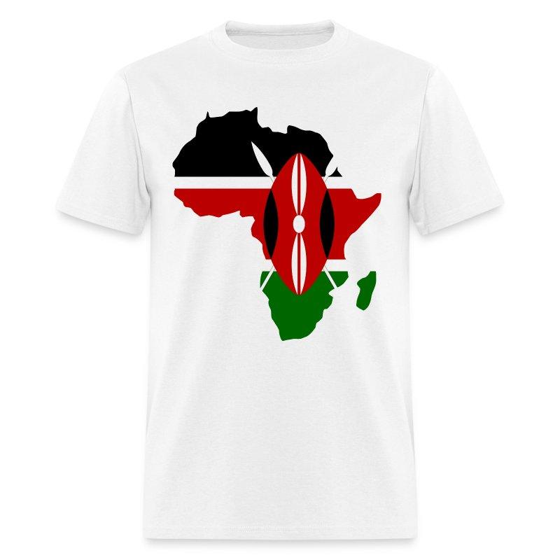 Kenya Flag Aafrica Map T Shirt Spreadshirt