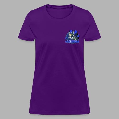Takeover Tshirt - Womens Purple - Women's T-Shirt