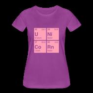 T-Shirts ~ Women's Premium T-Shirt ~ Unicorn Elements Periodic Table