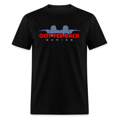 MENS SOLDIER SILHOUETTE / DARK - Men's T-Shirt