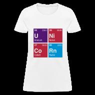 T-Shirts ~ Women's T-Shirt ~ Unicorn Elements Periodic Table