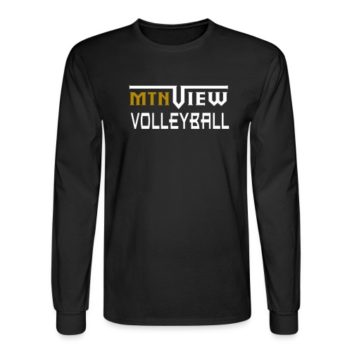 Mtn View Men's Fit Long-Sleeve Tshirt - Men's Long Sleeve T-Shirt