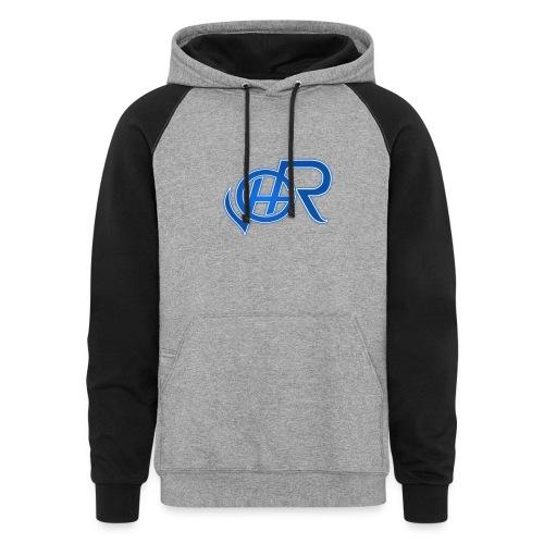 Haunted Ryze Simple Logo Sweater - Colorblock Hoodie