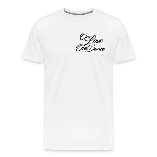 One Love One Dance Tee (White) - Men's Premium T-Shirt