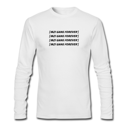 Yazi Gang Forever Long-Sleeve - Men's Long Sleeve T-Shirt by Next Level