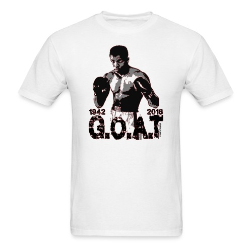 Ali G.O.A.T design - Men's T-Shirt
