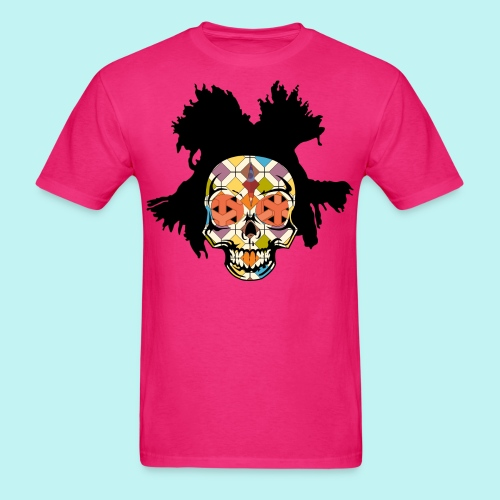 Basquiat Skully - Men's T-Shirt
