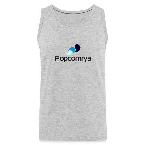popcornrya logo mens tanktop - Men's Premium Tank