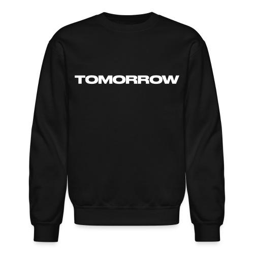 TOMORROW Jumper - Black - Crewneck Sweatshirt