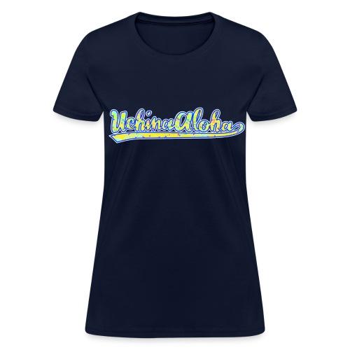 UchinaAloha Logo -- WOMENʻS T-Shirt  - Women's T-Shirt