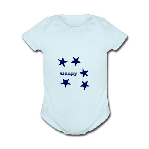 Sleepy nightwear - Organic Short Sleeve Baby Bodysuit
