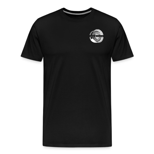 Focused Photography BBS Shirt (white logo). - Men's Premium T-Shirt