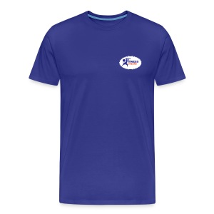 Fitness Cheers Men's Premium T-Shirt - Blue - Men's Premium T-Shirt
