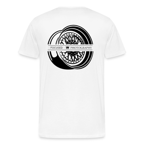 Focused Photography BBS Shirt (Black logo). - Men's Premium T-Shirt