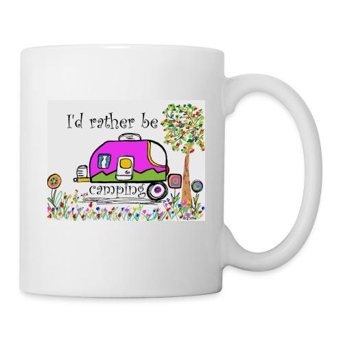 I'd rather be camping - Coffee/Tea Mug