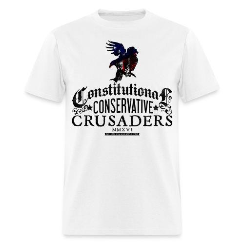 Constitutional Censervative Crusaders - Men's T-Shirt