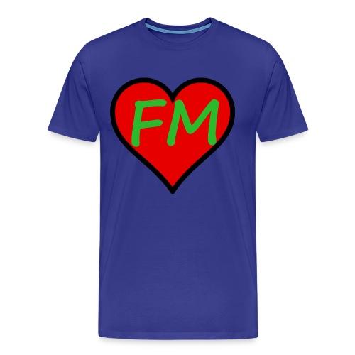 FibroMan Logo Shirt - Men's Premium T-Shirt