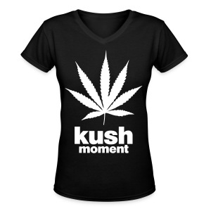 KUSH - Women's V-Neck T-Shirt