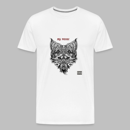 My Pride EP Men's White Shirt - Men's Premium T-Shirt