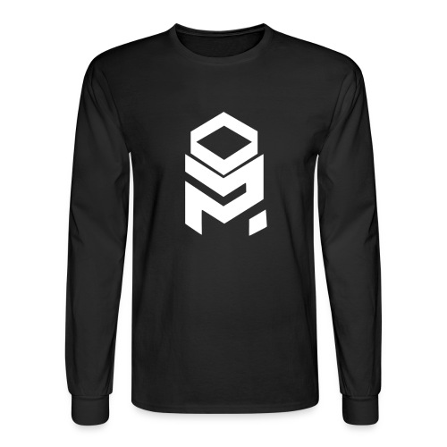 OptiMystic (Black) - White - LONG SLEEVE - Men's Long Sleeve T-Shirt